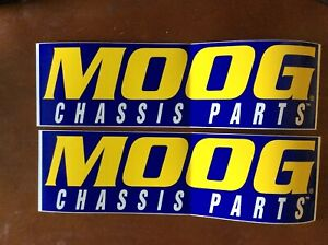NASCAR Contingency Decals - MOOG Chassis Parts Decal/stickers.