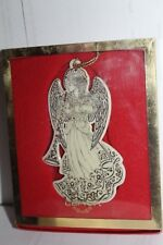 Lenox Ornament - Baroque Angel with Horn
