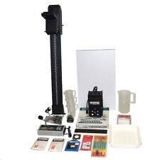 DARKROOM EQUIPMENT BESELER 67XLD DICHROIC ENLARGER RODAGON 50mm LENS + EXTRAS