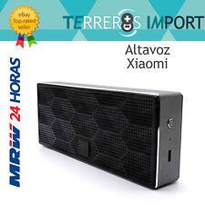 Altavoz Bluetooth 4.0 Xiaomi portatil rectangular metalico negro