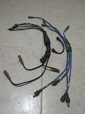 GENUINE 1970-87 ROLLS ROYCE BENTLEY TRIUMPH BANK A & B IGNITION CABLE WIRE SET