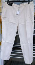 NEW Next Tailoring Slim Trousers Cream Womens Size 20R RRP £28