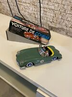 Voiture De Course Racing car Tin Toy.Made in China 1960s.