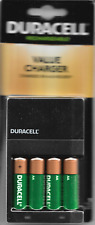 Duracell Value Charger For AA & AAA Batteries With 4  Rechargeable Batteries
