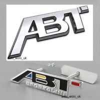 Abt Sports Line Gitter & Hinten Set Abzeichen Emblem VW Volkswagen Audi Seat