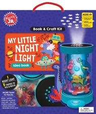 MY LITTLE NIGHT LIGHT - MAKE YOUR OWN KIDS KLUTZ JR BOOK & CRAFT KIT AGES 4+