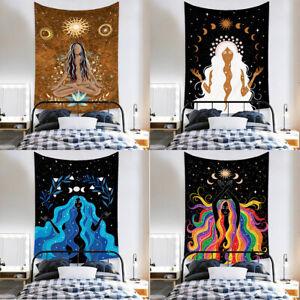 Yoga Zen Tapestry Meditation Chakra Psychedelic Bohemian Mandala Wall Hanging