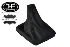 BLACK STITCH LEATHER MANUAL GEAR GAITER SHIFT BOOT FITS VOLVO S70 V70 1996-2007