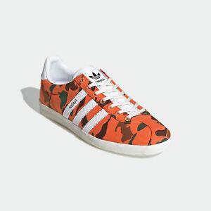 Adidas Gazelle OG Noah Orange Camo Shoes Size 6.5 Authentic Collab FY5381