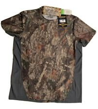 Browning Hero Fit Short Sleeve Shirt with A-Tacs Camo; Men's Extra Large Xl