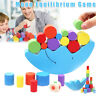 Moon Equilibrium Game Wooden Stacking Blocks  Sorting Preschool Toy for Kids