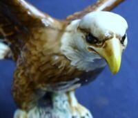 Beswick Large Bald Eagle Model 1018 Brown Gloss by Arthur Gredlington