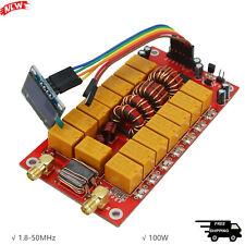 """1.8-50MHz ATU-100 Automatic Antenna Tuner 100W 0.96"""" OLED Finished Upgraded V3.2"""