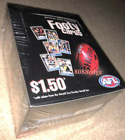 2005 HERALD SUN AFL DAY 16 SEALED BOX:HIRD/BUCKLEY/BALL/SCARLETT SIGNATURE? RARE