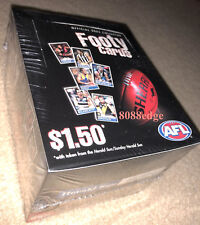 2005 HERALD SUN AFL DAY 1 SEALED BOX: HIRD/BUCKLEY/BALL/SCARLETT SIGNATURE? RARE