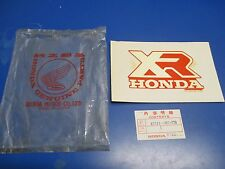 1986 Honda XR100R/XR250R/XR80R Left Side Fuel Tank Marker 87124-GN1-770