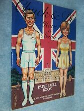1982 Chuck & Di Have a Baby Paper Doll Book