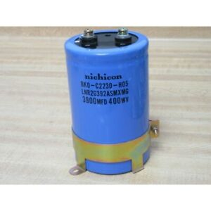 NICHICON BKO-C2230-H05 Condensatore elettrolitico 3900MFD 400WV, NOS