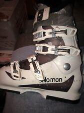SALOMON DIVINE 65 SKI BOOTS WOMEN SIZE 24 24.5 US Women's Size 7 7.5