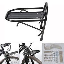 Aluminum Alloy Bike Bicycle Front Rack Luggage Shelf Panniers Bracket Mount New