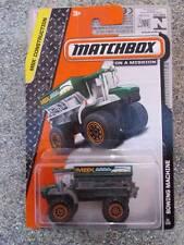 MATCHBOX 2014 # 031/120 SEMINA MACCHINA MBX FRM 6000 VERDE LUNGO US carta