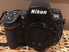 Nikon D700 DSLR 12.1 MP Fx-Format Digital SLR  *Body Only*  #312 shutter count.