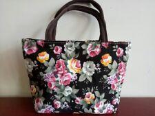 Chic Large Girl Shopping Shoulder Bag Women Printing Canvas Handbag Beach Bag