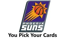 You Pick Your Cards - Phoenix Suns Team- NBA Basketball Card Selection