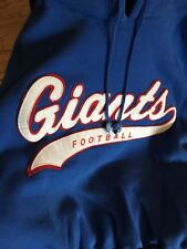 5cb2411f3 Vintage Starter New York Giants Sweatshirt NFL Football Hoodie Medium