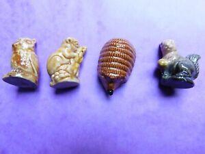 Vintage Wade Ceramic/Porcelain Animal Ornaments