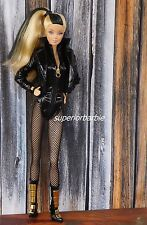 DC COMICS Barbie Collector BLACK CANARY Outfit and Accessoires
