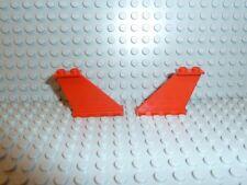 Lego ® Space Classic 2x alas rojo 4x1x3 Tail 2340 6923 6939 6356 5591 8812 k322