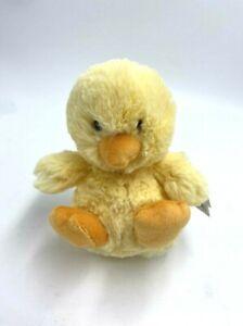 """NWT Jellycat Little Poppet Chick 5.5"""" Plush Stuffed Animal Yellow Chicken"""