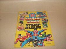 Official DC Super Hero Stamp Album 1 1978 VF Complete Neal Adams UNUSED RARE