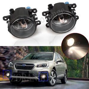 2X Front Bumper Fog Light Lamps For Subaru BRZ VX Impreza Outback Levorg Liberty