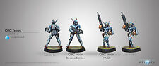 Infinity PanOceania BNIB Orc Troops (HMG/Boarding Shotgun) 280292