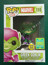 Funko Pop! Green Goblin Glow in the Dark SDCC Summer Convention Exclusive 2016