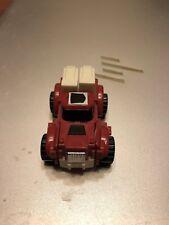 1986 Transformers G1 Autobots Minibots Swerve Figure 4wd Red Pickup Truck LQQK!