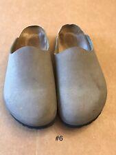 Birki's by Birkenstock Womens Size 7 Men's Size 5 Slides Mules Clogs Shoes