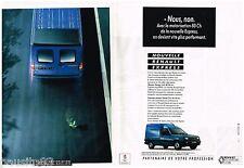 PUBLICITE ADVERTISING 095  1991  RENAULT  le nouveau EXPRESS (2p)  utilitaire