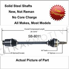 2000-2004 Subaru Outback Cv Axle New Front Right or Left Fits Other Models (Fits: Subaru)