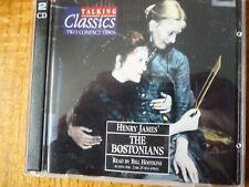 2 CD AUDIO BOOK - THE BOSTONIANS - Talking Classics No: 68