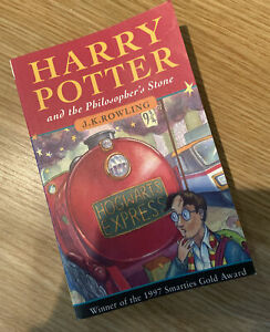 HARRY POTTER AND THE PHILOSOPHER'S STONE * JOANNE ROWLING * ERRORS 1ST/40th SB