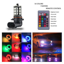 LED Fog Light RGB Low Power Consumption Stable Performance Increase Night Vision
