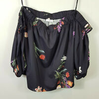 SHEIKE | Womens Floral Blouse Off shoulder Top [ Size AU 10 or US 6 ]