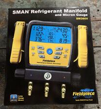 Fieldpiece Wireless 3 Port Sman Refrigerant Manifold Amp Micron Gauge Sm380v