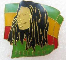 Pin's FREEDOM avec Bob Marley  #1079