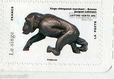 FRANCE 2013, timbre AUTOADHESIF lettre verte le SINGE, MONKEY, VF MNH STAMP