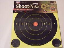 "Birchwood Casey SHOOT N C Targets 8"" 6 Pack + extras"