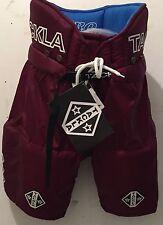 Ice Hockey Sr Pant Tackla Maroon Model 2400, Sizes S, L